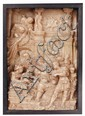 Probably MECHELN(?), late 16th Century, A LATE 16TH CENTURY MECHELN ALABASTER GROUP OF THE ADORATION OF THE MAGI, LATE 16TH CENTURY, ,