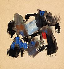 Fritz Winter, Untitled, 1959