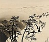 A hanging scroll by Michio. Ca. 1935