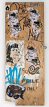 Faile, Peter Klashorst, Untitled,