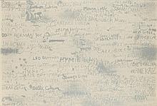 Jim Dine, Cincinnati Signature III, 1969