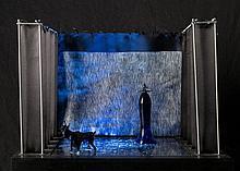 Jan Fabre, Das Glas im Kopf wird vom Glas - The dance section II, 1987-1988