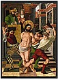 SPANISH SCHOOLcirca 1500, THE FLAGELLATION OF CHRIST