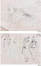 Fernando Zobel Assorted drawings