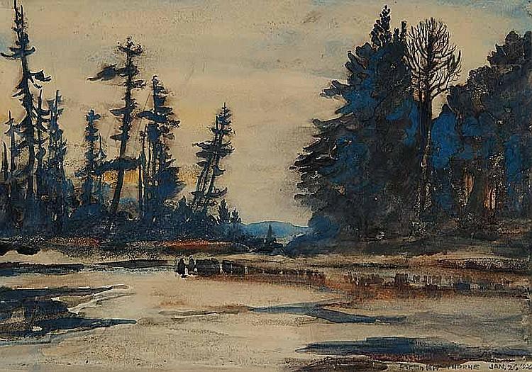 Artist : GORDON KIT THORNE ~ [b.1896] Canadian