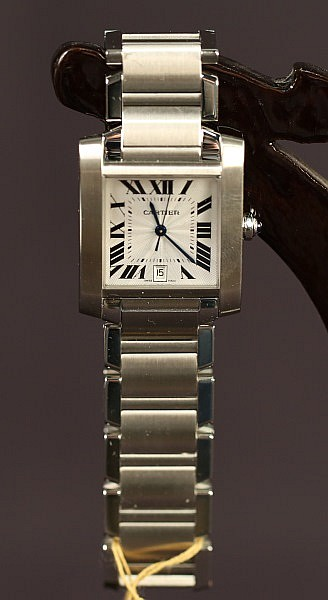 CARTIER FRANCAIS TANK WATCH