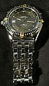 BREITLING STAINLESS & GOLD ANTARES WATCH