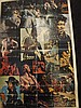 Rock Poster Jimmi Hendrix Collage - Printed in the