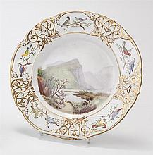 Worcester Royal Porcelain Works 'Eagle Nest' Plate