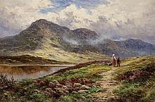 Henry Hillier Parker, British (1858-1930), Glen Lochay near Killin, Perthshire, oil on canvas, 14 x 20 1/2 inches