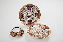 Four Pieces of Stevenson & Hancock, Derby, Porcelain