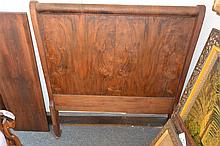 Antique American sleigh bed