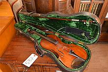 German Joseph Kloz violin in case