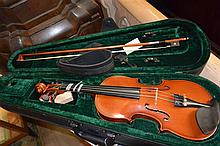 Antonius violin in case