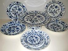 "Meissen ""BLUE ONION"" Porcelain Ware"