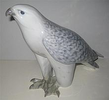 Royal Copenhagen Porcelain Bird, ICELAND FALCON