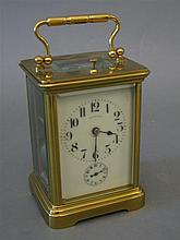 Charles Houre, France, for Tiffany & Co Carriage Clock