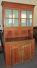 Antique American Pine Cupboard