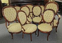 American 19th Century Seven Piece Parlor Set