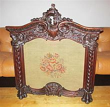 Louis XV Style Fireplace Screen