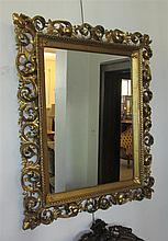 Continental 19th Century Giltwood mirror