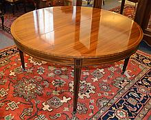 Antique Edwardian Mahogany Dining Table