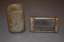 1904 Worlds Fair & St. Louis Phoenix Brewery (Pre-Prohibition) Match Safes