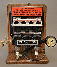 Restored Working Champion Spark Plug Tester