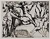 Marino Marini, Italian/Swiss (1901-1980), Grand Teatro, 1971, etching and aquatint, 19 1/4 x 25 1/4 inches, Marino Marini, $400