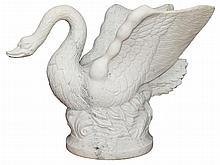 Marble Sculpture of a Swan