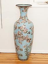 Japanese Cloisonne Royal Imperial Temple Vase