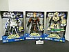 (3) Star Wars(Clone Wars) Force Battle Battery Powered Figures N.I.B. for one money