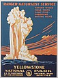 Poster, Yellowstone, Ranger Naturalist Service