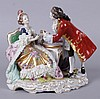 A Dresden Porcelain Figural Group