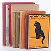 Six Early 20th Century Books Regarding Cats