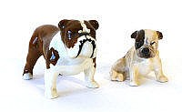 A Beswick model of a bulldog