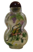 Chinese Inside Painted Glass Snuff Bottle, Early 20th Century, Signed