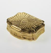 A Fine Gold Snuff Box. Probably French. Circa 1740.