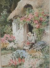 Joshua Fisher (1859-1930). Watercolour