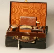 An Edwardian Dressing Case. Of small proportions