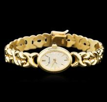 Ladies Geneve 14KT Yellow Gold Wristwatch