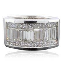 18KT White Gold 2.50ctw Diamond Ring