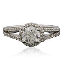14KT White Gold 1.30ctw Diamond Ring