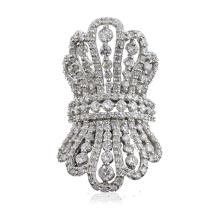 18KT White Gold 10.62ctw Diamond Ring
