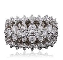 14KT White Gold 2.67ctw Diamond Ring