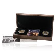 2008 Royal Mint Olympic Games Handover and Olympic Games Centenary £2 Two Pound Gold Proof 2 Coin Set