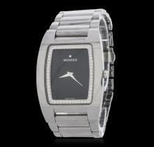 Movado Carbide Tungsten 0.50ctw Diamond Wristwatch