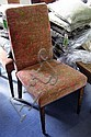 BEAUMONT & FLETCHER SIDE CHAIRS, a pair, with