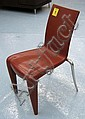 PHILIPPE STARCK DINING CHAIRS, a set of six,
