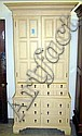 CHALON SECRETAIRE/TALL CUPBOARD, with an upper
